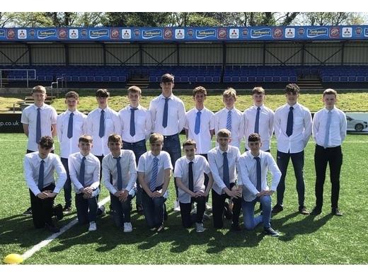 Congratulations to Brackla U16s