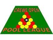 Crewe Open Pool League - Logo