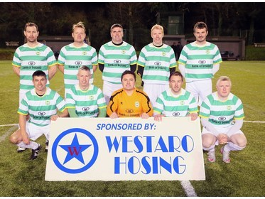 Castlebar Celtic Masters Team