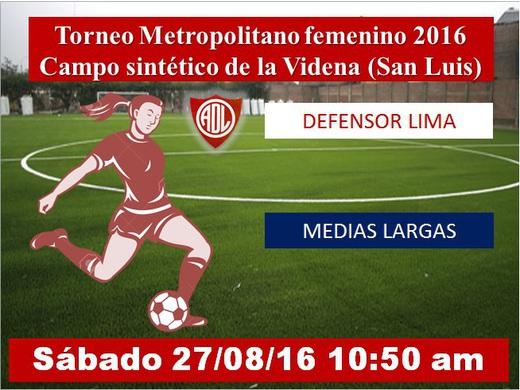 Defensor Lima vs Medias Largas