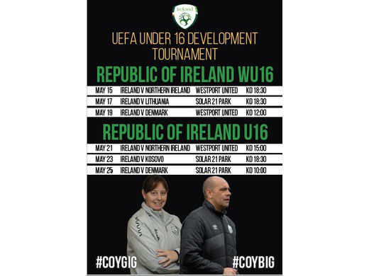 U16 Development Tournament takes place in Mayo over the next two weeks