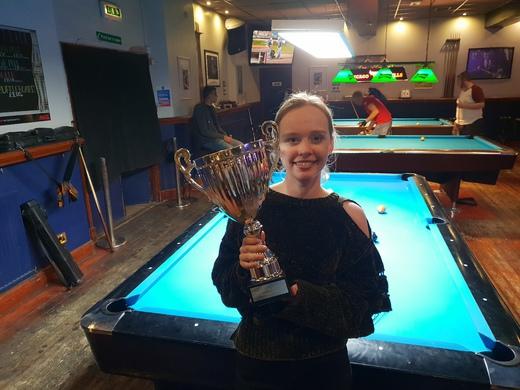 Mick Walkerdine Cup Winner Summer 2018, Ellis Green