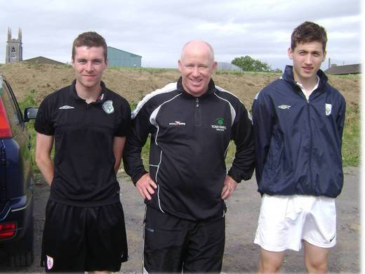 Tosh & Young Assistant Coaches, Sean & Rory