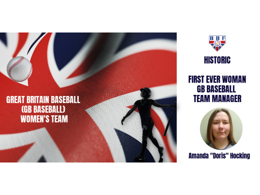 Great Britain Baseball New Women's Manager
