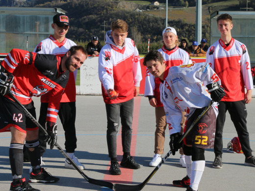 Kickoff for the Junior World Championship in ball hockey in the Valais