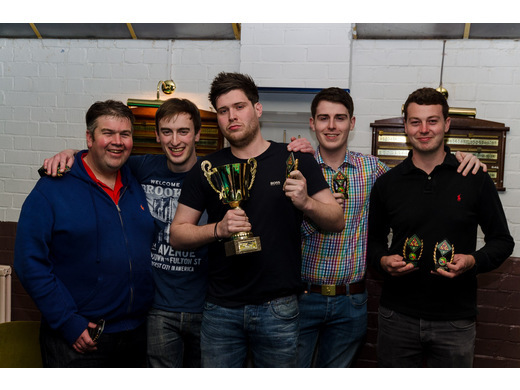 Premier Division R-Up - KO Cup Runners Up, Snooker Centre A.