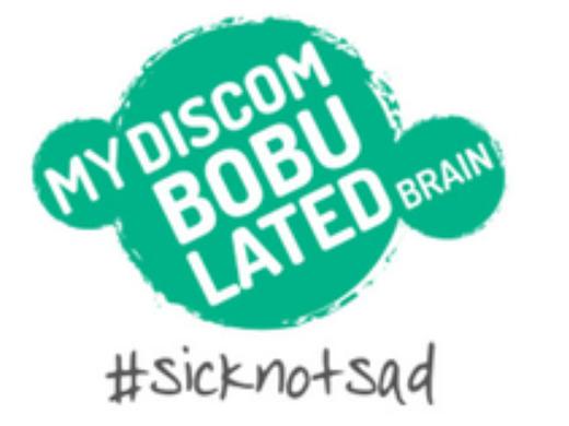 Charity Highlight - My discombobulated brain