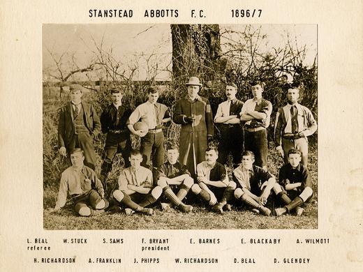 Team of year 1896/97.