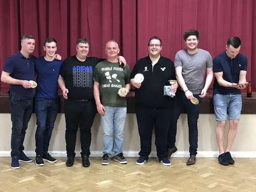 MENS DIVISION 1 & KO CUP 'PLATE' RUNNERS- UP - SEXY AND WE THROW IT