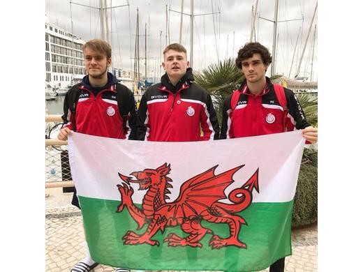 Archers trio representing Wales