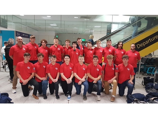 The Great Britain National Baseball (GB Baseball) U18 Team sets out to compete in Europe.
