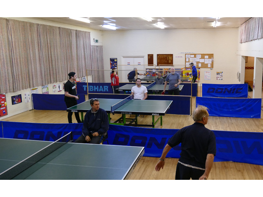 Wealden Table Tennis 2016 Tournament