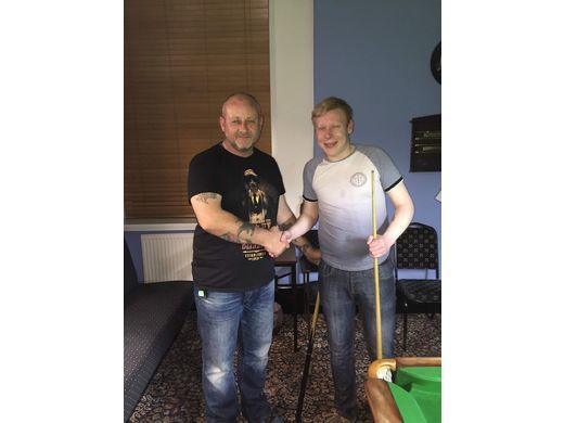 John Smith (Left) - Captain's Cup Winner 2018-2019