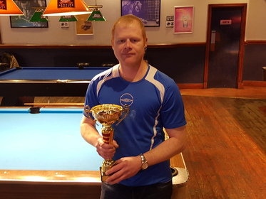 Division 4 Winner Winter 2018 Pete Greasley