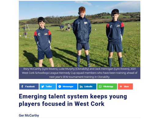 West Cork Kennedy Cup preparations continue