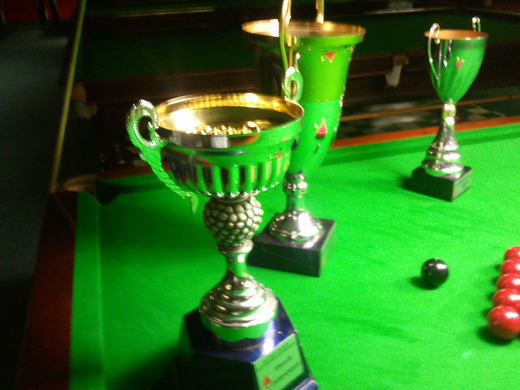 Falkirk and District Snooker League Trophies
