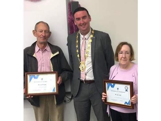 Jack Halliday and June Smith awarded Connacht Hockey Life Membership