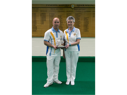 Mark Perrott & Catherine King - Frank Deves Mixed Pairs Champions