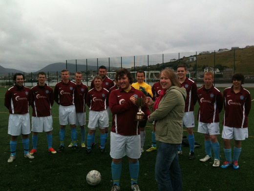 Stromness are Reserve League Champions