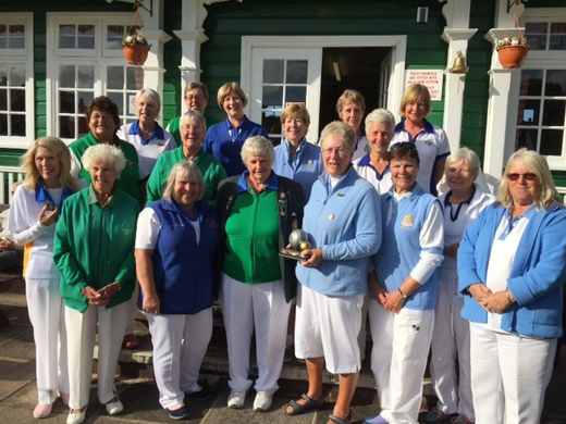 Section 3 Ladies win the Jubilee Trophy