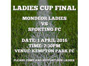 Mondeor Ladies Cup Final