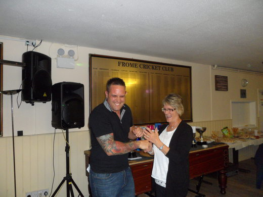 Pam Hares - joint highest ladies score