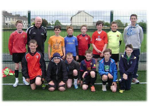 BallymahonU12 with Tosh & Young Coach Connell