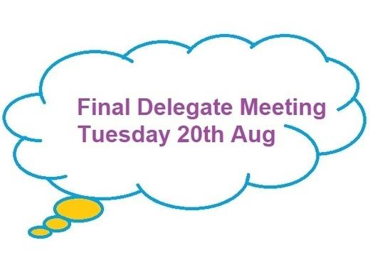 Final Delegate Meeting