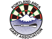 The Portland Area Dart Association - Logo