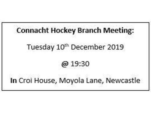 December Branch Meeting