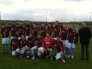 Stromness Reserves take the Reid Cup