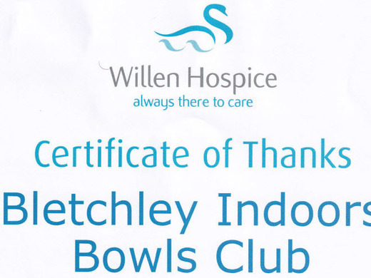 Our support of Willen Hospice
