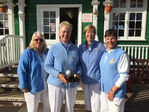 Lyn Eveleigh, Jacky Howle, Mary-Ann Dowrick & Lin Halpin
