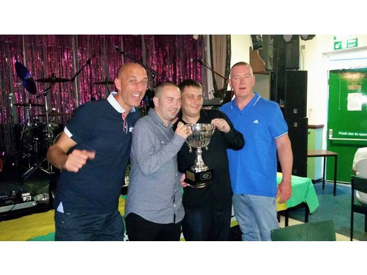 1st Division Champions 2014-2015 - Green Baize
