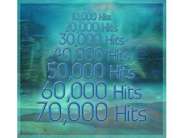 70,000 hits
