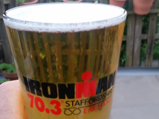 Staffordshire 70.3 Race report  Sunday 10/6/2018