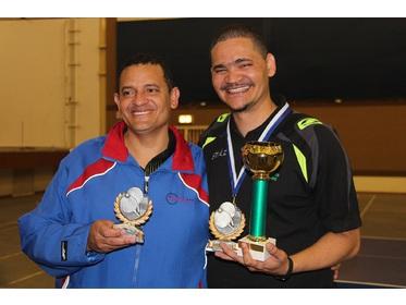 Mens Singles Finalists Fabian Tait & Wayne Green (Champion)