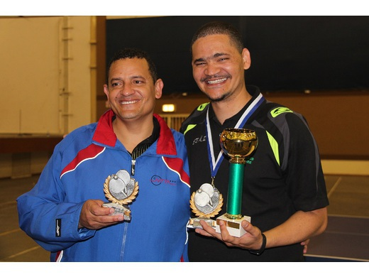 Wayne Green, the New Namibian Table Tennis Champion