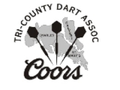 TRICODA (Tri-County Dart Association) - Logo