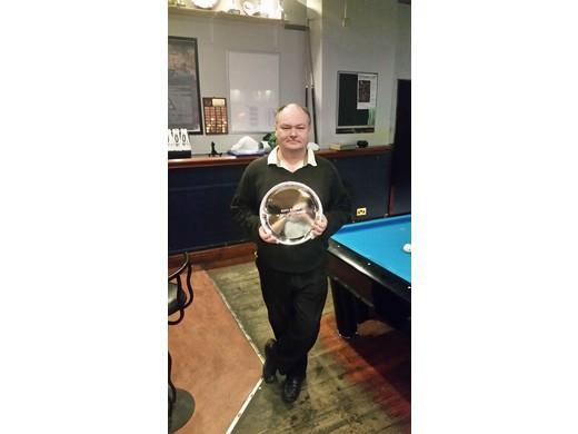 Rack N Roll 10 Ball League Winner 2016 - Mick Jones