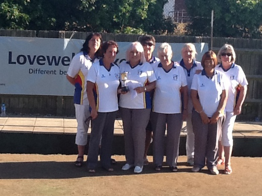 Trophy Winner another success for Gorleston Links Ladies in the Malta Cup