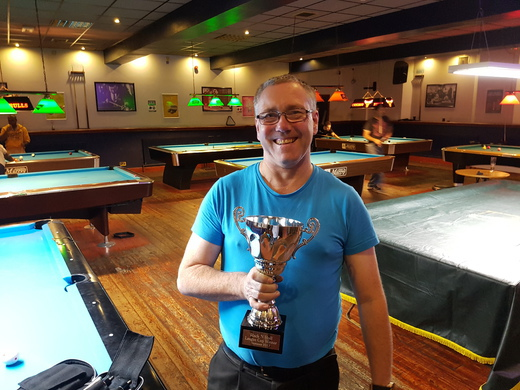 League Cup Winner Summer 2017, Steve Strawhorn