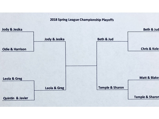2018 Spring League Championship Playoffs!