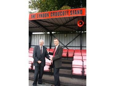 Lyndon Groucott Stand