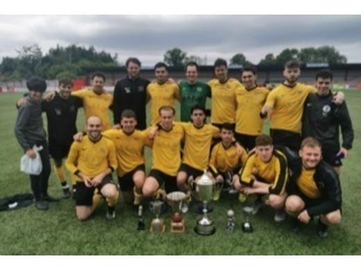 Haroldeans - Treble trophy winners