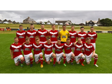 The Orkney side who faced Wick Academy