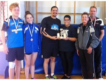Mixed Doubles Overall Winners
