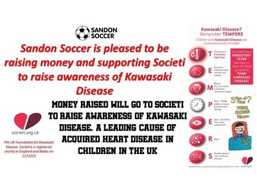 Sandon Soccer - Kawasaki Disease