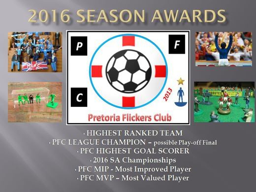 THE 2016 PFC SEASON AWARDS