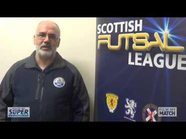 Scottish Futsal Super League tv show  Week 2 - 26th March